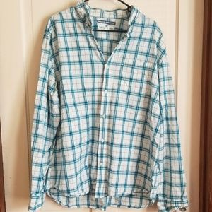 Old Navy regular fit casual shirt xxl plaid